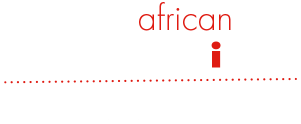 South African Conversations Logo on Black
