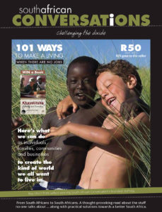 South African Conversations Magazine Cover